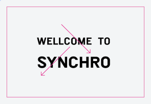 WELLCOME TO → SYNCHRO